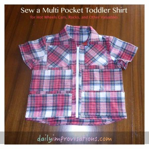 toddler pocket shirt finished front