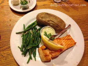 Billy Reed's salmon