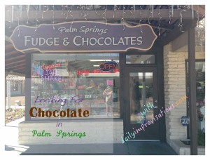 PS chocolate fudge and title
