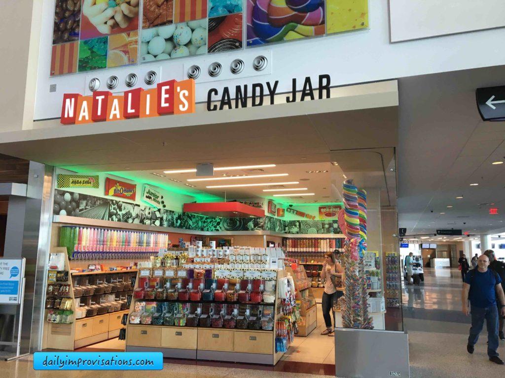 Natalie's Candy Jar at IAH Houston Airport