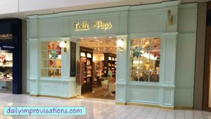 The Lolli and Pops store front at the Boise Towne Square Mall