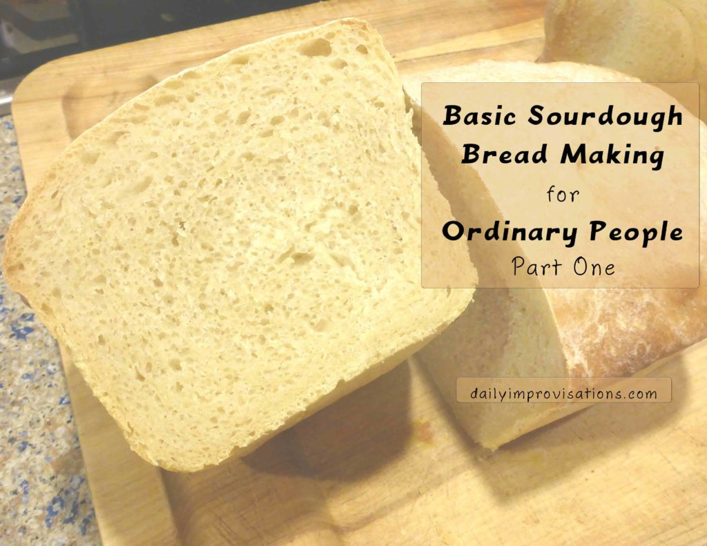 Basic Sourdough Bread Making for Ordinary People Part One