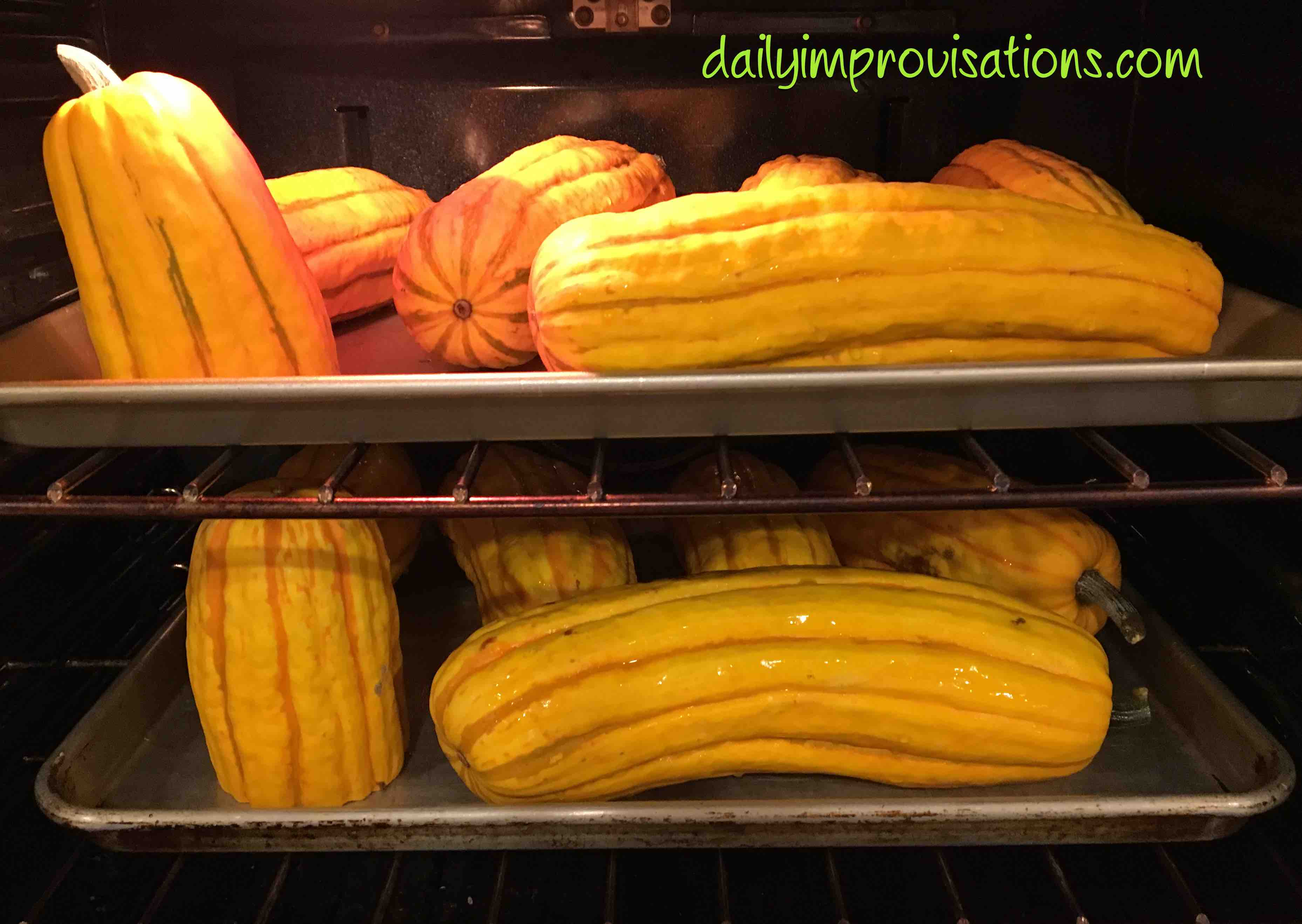 how to cook winter squash in oven