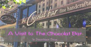 chocolat bar front