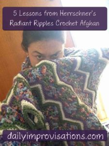 Natalie's zigzag blanket ninja
