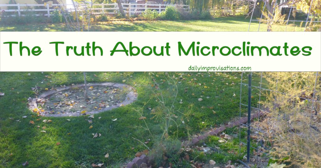 The Truth About Microclimates
