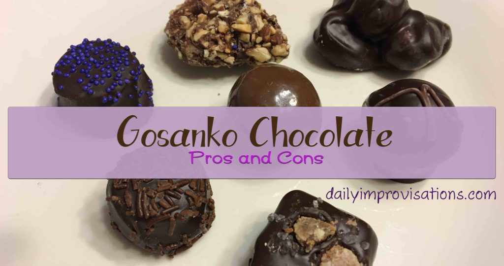 Gosanko Chocolate Pros and Cons