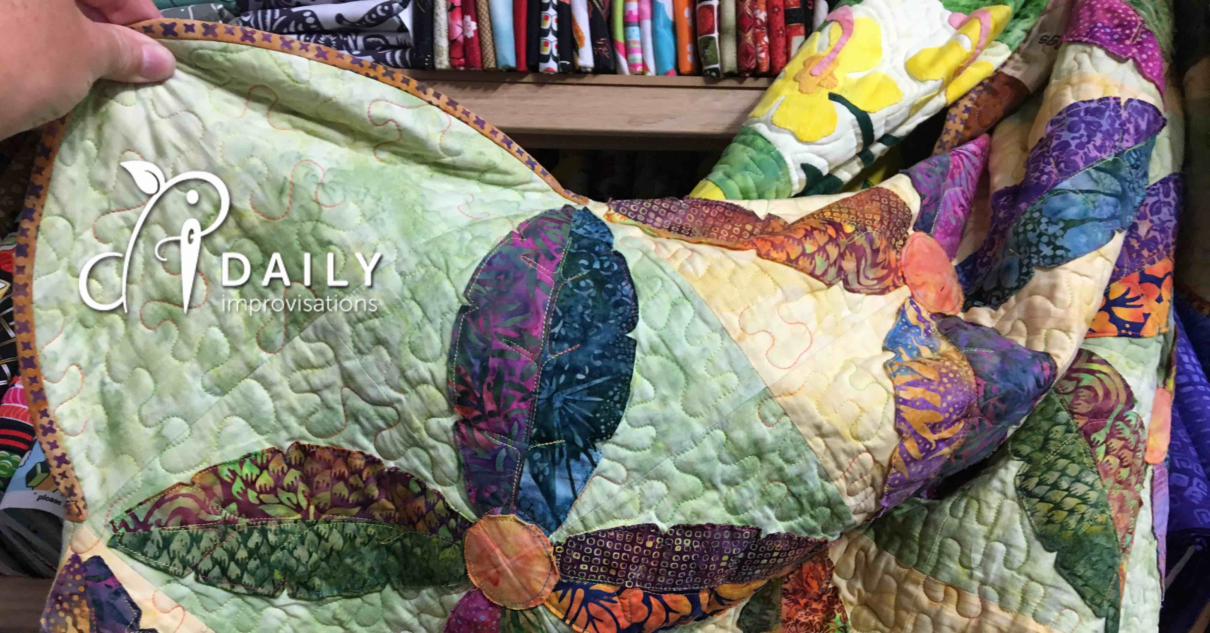 An Accidental Trip to the Maui Quilt Shop : lahaina quilt shop - Adamdwight.com